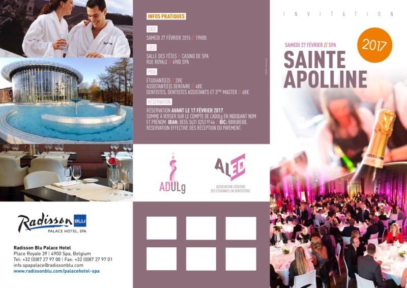 153950•INVITATION APPOLINE 2017